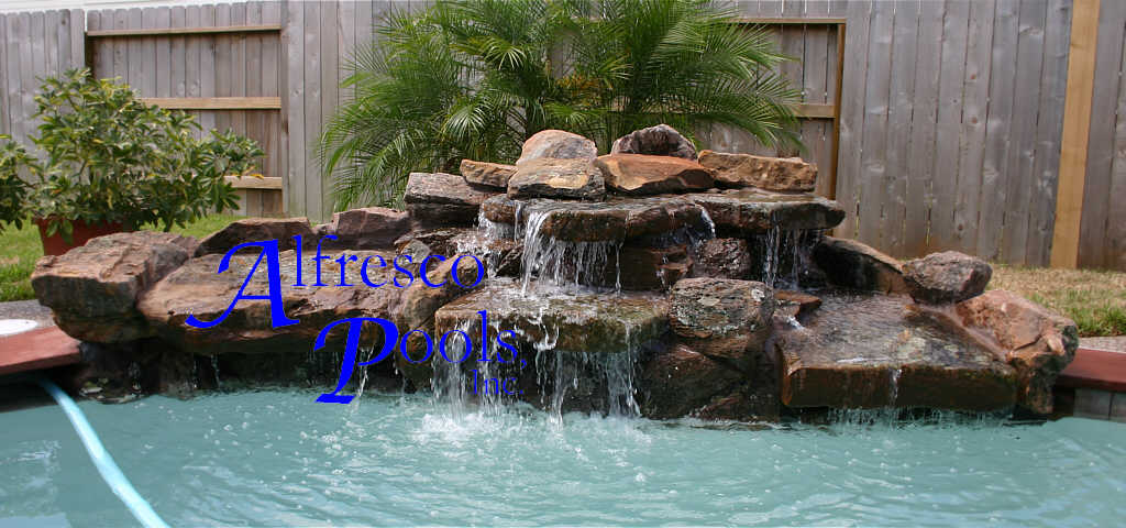 Standard Pools With 7 Foot Spa Flagstone Coping Add